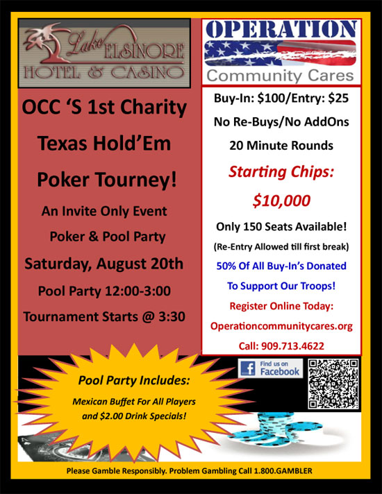 OCC Poker Tourney 8-20-2011