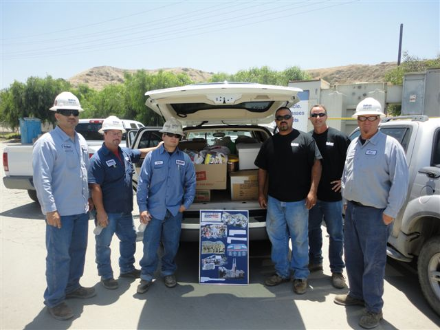 Thank you to Vulcan Materials for their support of Operation Community Cares