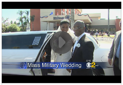 'Operation Cupid' Gives 10 Military Couples Free Dream Weddings