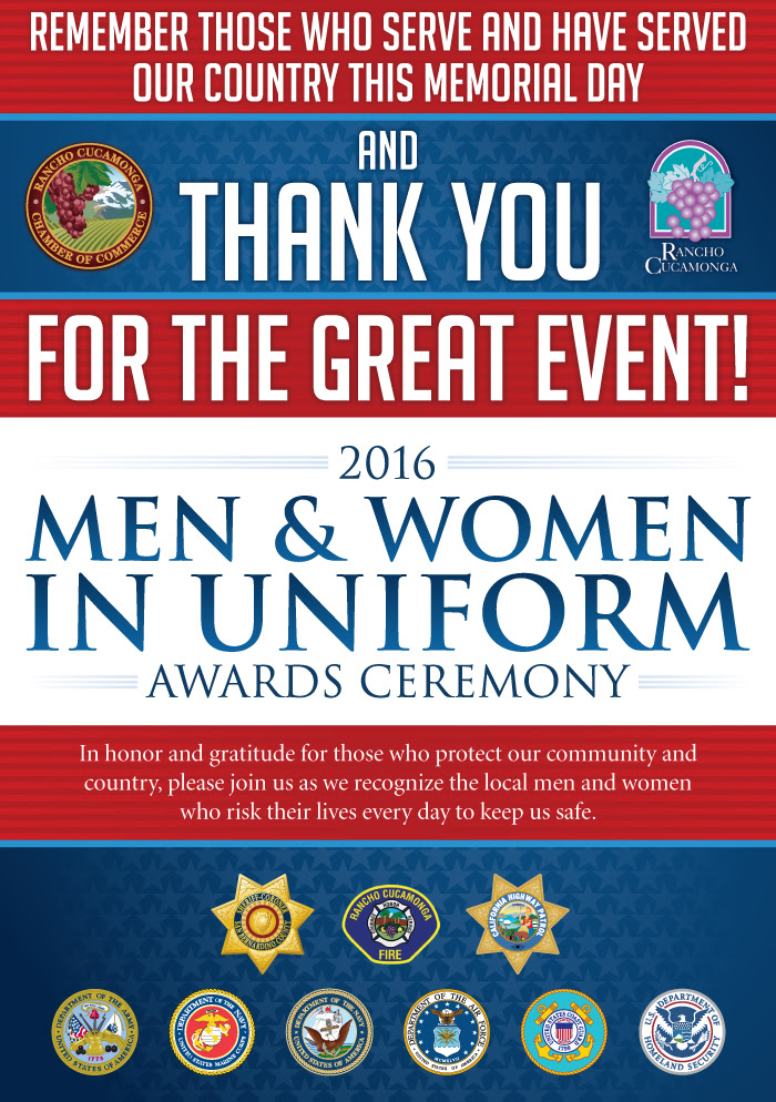 Men and Women in Uniform Awards Ceremony